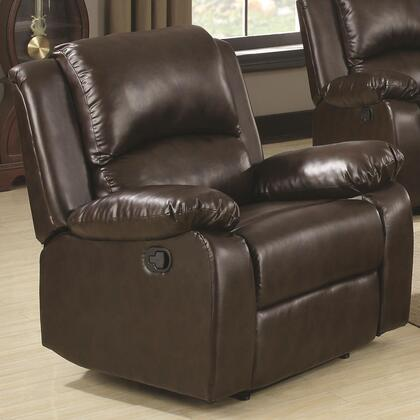Coaster 600973 Boston Series Casual Wood Frame  Recliners