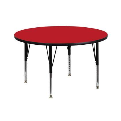 Flash Furniture XUA42RNDREDHPGG