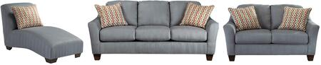 Milo Italia MI2785SLCLLAGO Victoria Living Room Sets