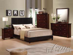 Acme Furniture 20160Q Ridge Series  Queen Size Panel Bed