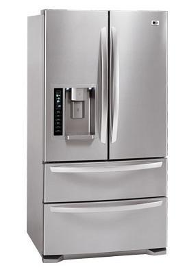 Lg Lmx25984st French Door Refrigerator With 24 7 Cu Ft