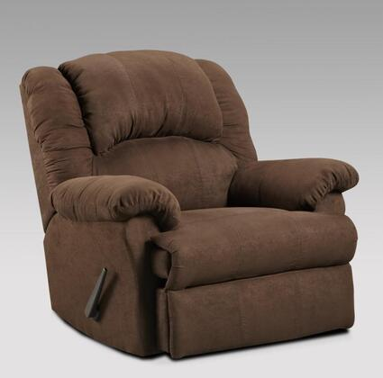 "Chelsea Home Furniture 2001 39"" Verona IV Ambrose Chaise Rocker Recliner, with 1.8 Density Foam Cushion, Toggle Push Button Mechanism, and Upholstered"