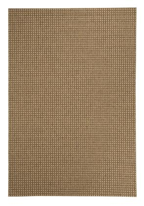 Milo Italia Gary RG424767TM Rug with Olefin Material, Indoor and Outdoor Use and Machine Made in Chestnut