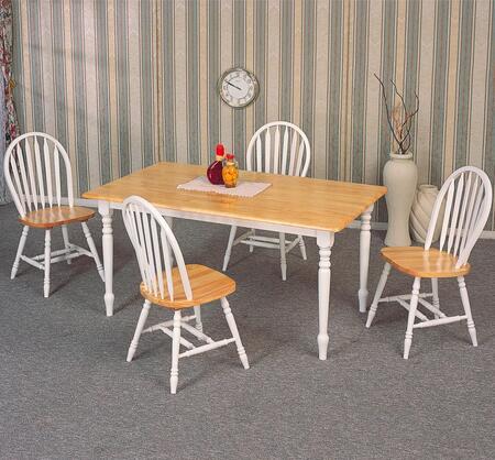 Coaster 4160SET5 Damen Dining Room Sets