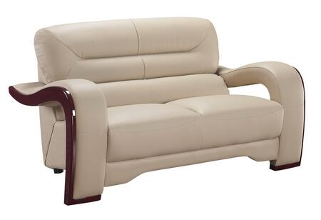 Global Furniture USA 992RVL Ultra Bounded Leather  with Wood Frame Loveseat