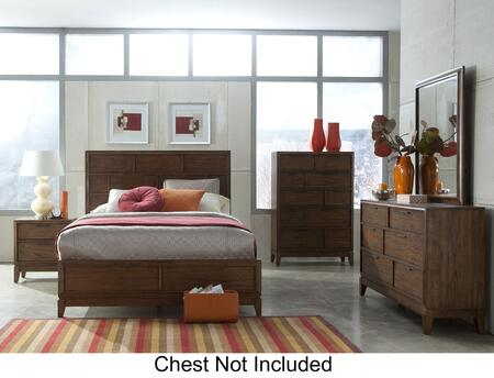 Klaussner 4180664PCSET Westbury King Bedroom Sets