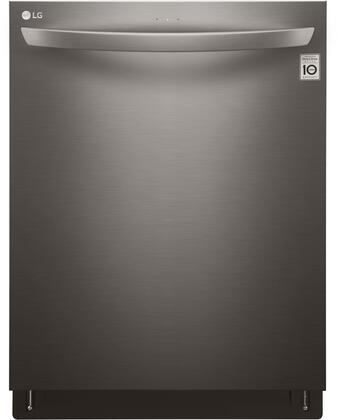 """LG LDT5665x 24"""" Built In Dishwasher with 15 Place Settings, QuadWash, 9 Wash Cycles, 46 dBA Quiet Operation and NeveRust Stainless Steel Tub, in"""