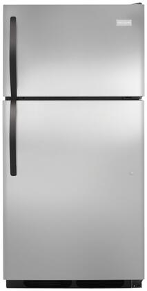 Frigidaire FFHT1513PS Freestanding Top Freezer Refrigerator with 14.8 cu. ft. Total Capacity 2 Wire Shelves 3.8 cu. ft. Freezer Capacity