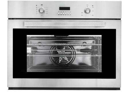 "Cosmo COV309 30"" Electric Single Wall Oven with 2.8 cu. ft. Capacity, Convection Fan, 9 Cooking Functions, Rotating Roasting Rod and Digital Display in"