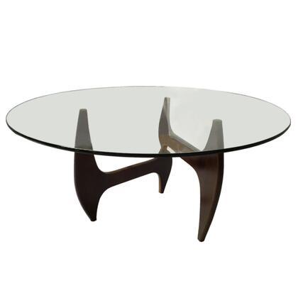 Fine Mod Imports FMI10171XXWALNUT Tribeca Dining Table, Walnut