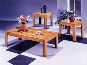 Acme Furniture 02168O Contemporary Living Room Table Set