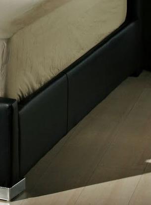 Diamond Sofa VALENTINOBEDFRAMEB Valentino Collection Bed Rails: