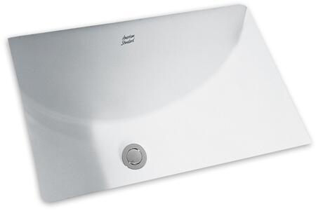 American Standard Studio Undermount Bathroom Sink 0614.000