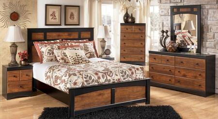 Milo Italia BR216FPBDMN Tucker Full Bedroom Sets
