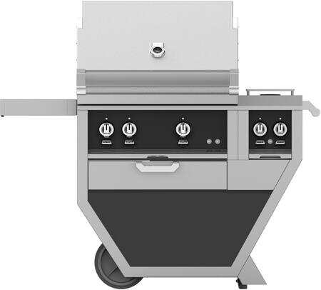 48 in. Deluxe Grill with Side Burner   Stealth