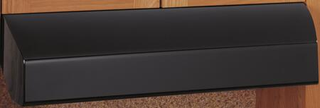 """GE Profile JV635H 30"""" Standard Under Cabinet Range Hood with up To 410 CFM Internal Blower, Vertical Or Rear Exhaust, Four-Speed Fan Control, and  Halogen Light,"""