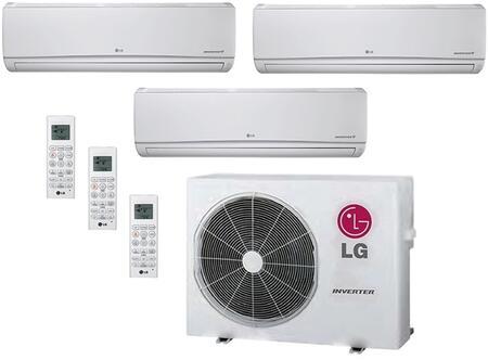 LG 706625 Triple-Zone Mini Split Air Conditioners