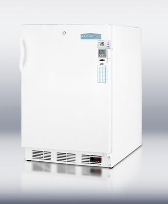 Summit FF6LBIMEDSCADA Medical Series Compact Refrigerator in White