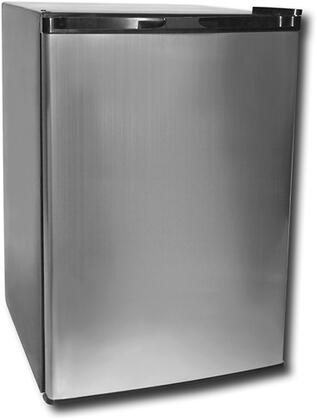 Haier HNSE05VS01  Compact Refrigerator with 4.52 Cu. Ft. Capacity in Stainless Steel