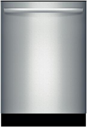 "Bosch SHX3AR75UC 24"" Ascenta Series Built In Fully Integrated Dishwasher with 14 Place Settings Place Settingin Stainless Steel"
