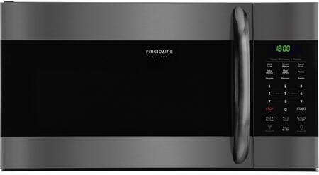 """Frigidaire FGMV176NTx 30"""" Gallery Series Over the Range Microwave with 1.7 cu. ft. Capacity, Sensor Cook, SpaceWise Rack, in"""