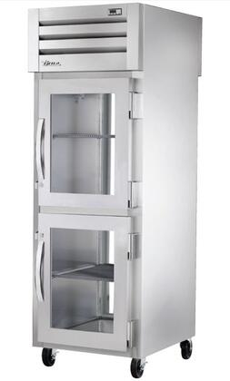 True STG1R-2G Spec Series Reach-In Refrigerator with 31 Cu. Ft. Capacity, LED Lighting and Glass Half Swing-Doors