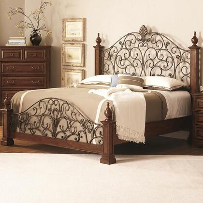 Coaster 202620KE Edgewood Series  King Size Poster Bed