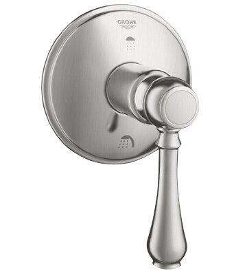 Grohe 19220 3-Port Diverter Trim Kit with Lever Handle