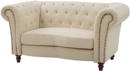 Glory Furniture G758L Fabric Stationary Loveseat