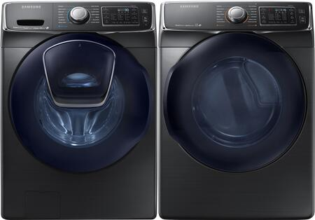 Samsung Appliance 691585 Black Stainless Steel Washer and Dr