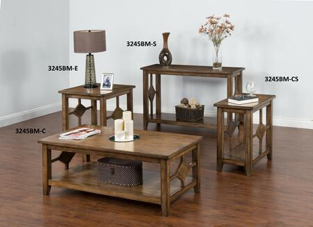 Sunny Designs 3245BMCkit1 Coventry Living Room Table Sets