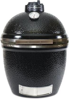 "Kamado Joe BigJoe BJ-24RH 24"" Ceramic Grill With 452 Sq. In. Cooking Surface, Heat Deflector, Ash Tool, Grill Gripper, Cast Iron Fire Grate and 304 Stainless Steel Cooking Grate in"