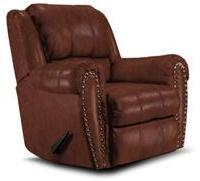 Lane Furniture 2141463516321 Summerlin Series Transitional Leather Wood Frame  Recliners