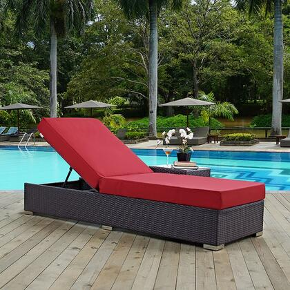 """Modway EEI1846EXPRED 82.5"""" Water Resistant Lounge Chair"""