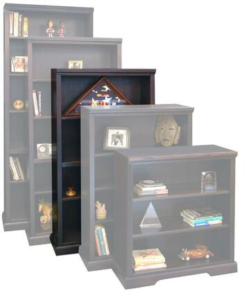 Legends Furniture BW6860DNCBrentwood Series Wood 4 Shelves Bookcase