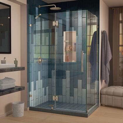 Quatra Lux Shower Enclosure RS25 04 Left Drain
