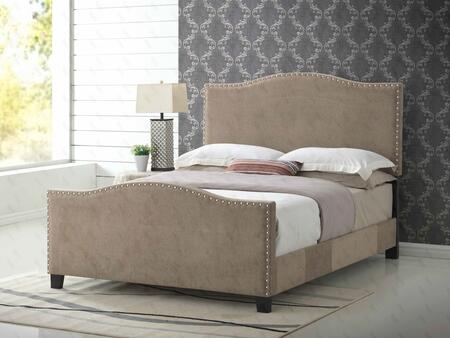 Glory Furniture G2571KBUP G2570 Series  King Size Panel Bed