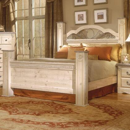 Standard Furniture 6402A Seville Series  Queen Size Poster Bed