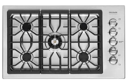 Frigidaire Professional FPGC3685KS Professional Series Gas Sealed Burner Style Cooktop