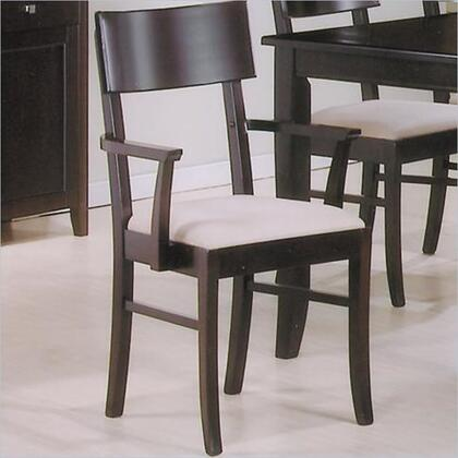 Coaster 100463 Springs Series Contemporary Wood Frame Dining Room Chair