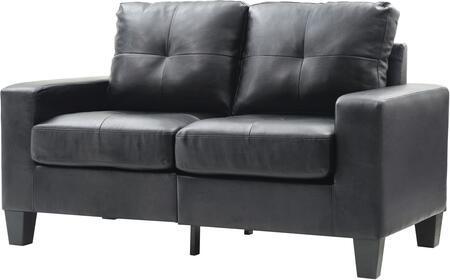 Glory Furniture G463AL Newbury Series Faux Leather Modular Loveseat