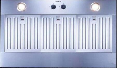 Arezzo 34in Stainless Steel Insert Range Hood: Standard Front View