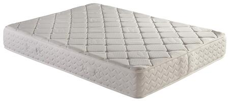"""Atlantic Furniture M4601 Classic Pocketed Coil Mattress with High Density Structural Foam, 5"""" Pocketed 13g Steel Coil Springs, 0.5"""" Quilted Cover and 0.25"""" Felt Top and Bottom Barrier"""