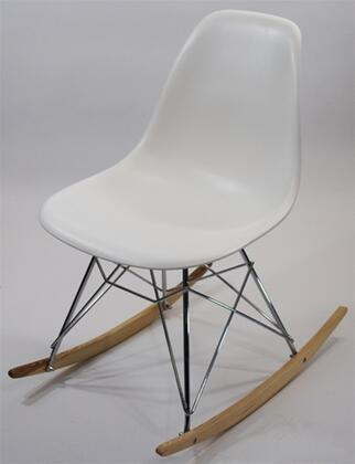 Fine Mod Imports FMI4014  ABS Frame Not Upholstered Rocking Chair