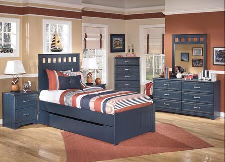 Milo Italia BR179FPBDNM Jamarion Full Bedroom Sets