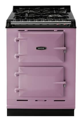 "AGA ACMPNGSIHTH 24"" Companion Series Heather Dual Fuel Freestanding Range with Sealed Burner Cooktop, 1.5 cu. ft. Primary Oven Capacity,"