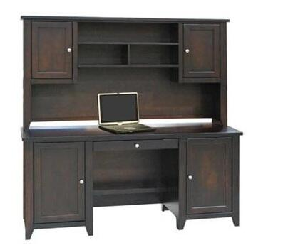 Legends Furniture UL6715MOC Urban Loft Series Hutch