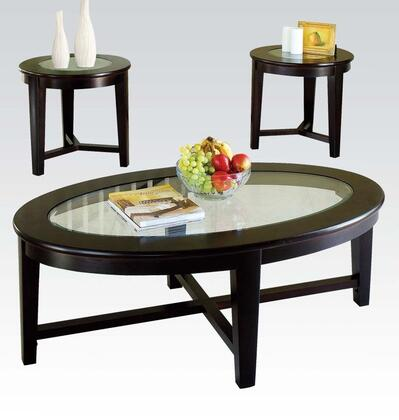 Acme Furniture 18458 Contemporary Living Room Table Set