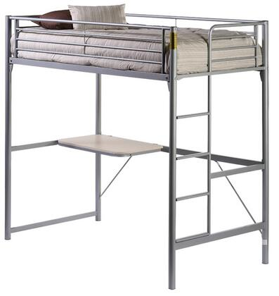 Hillsdale Furniture 1178D Brayden Series  Twin Size Loft Bed