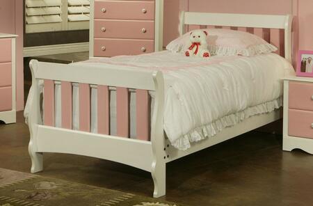 Sandberg 508F Blossom Series  Full Size Sleigh Bed